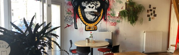 Graffiti schildering in vega restaurant Harlingen.jpg